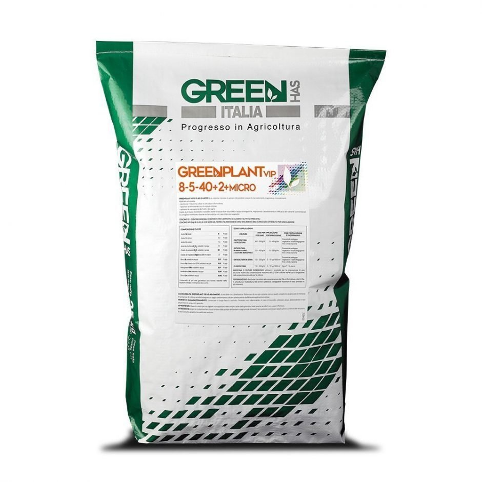 Linea GREENPLANT VIP - Green Has Italia