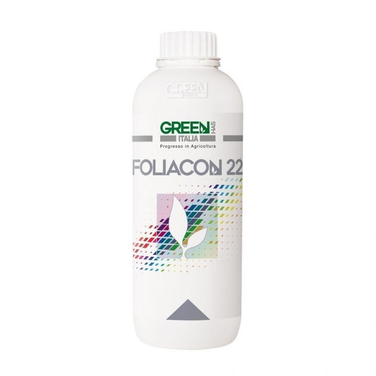 Foliacon 22, high and quick Ca and Mg bio-availability for plants in the unique 2:1 ratio, the most natural for the crops