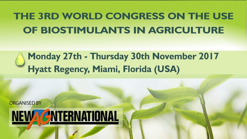 Don't miss the World's Largest Event on Agricultural Biostimulants!