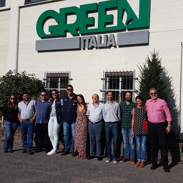 Ospiti Brasiliani in visita presso la sede di Green Has Italia