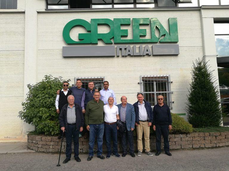 Delegazione giordana in visita alla sede di Green Has Italia