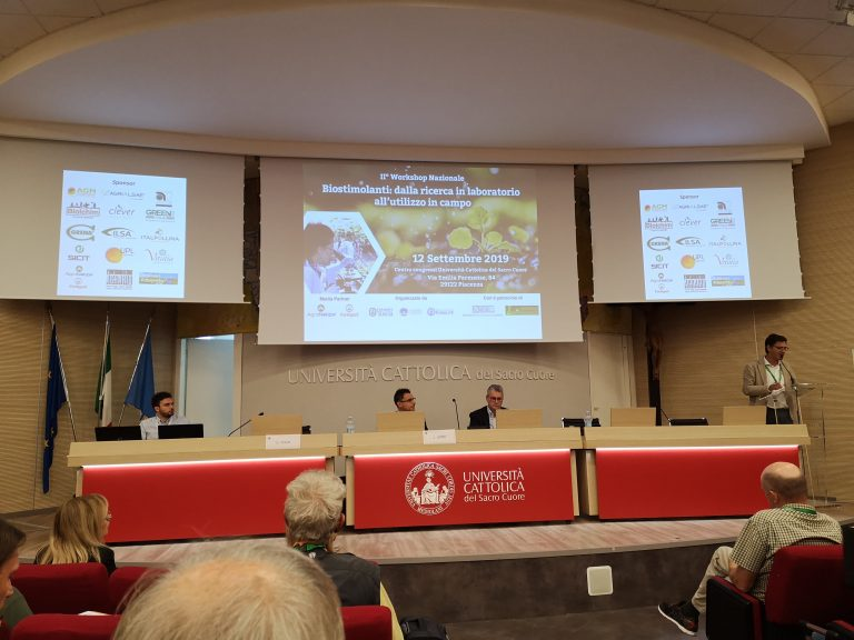 II° Biostimulants National Workshop – Piacenza 12nd September 2019