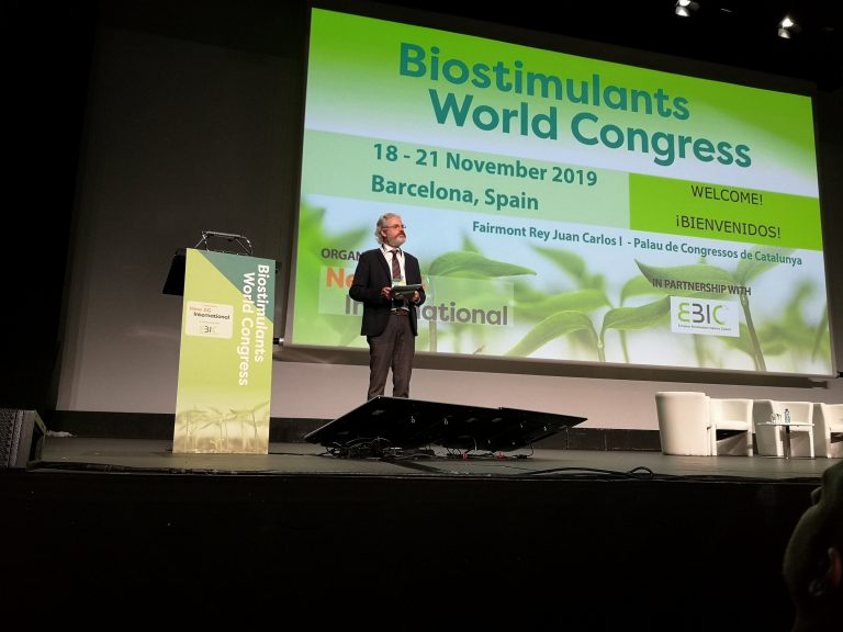 Green Has Italia studies at 4th Biostimulants World Congress
